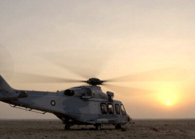 qatar helicopter filming company