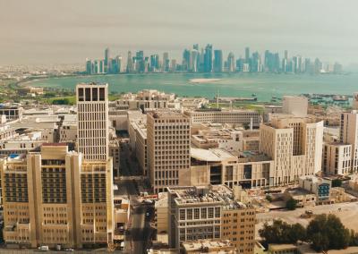 Ultramarine Films UAV Filming in Qatar