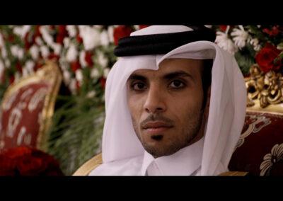 qatar drone film production
