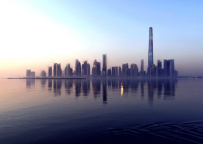 helicopter video production in qatar