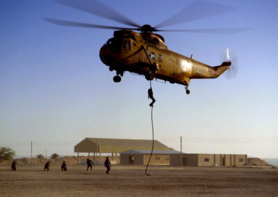 helicopter filming in qatar